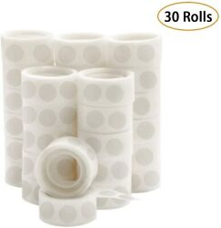 3000 Pcs Point Dots Balloon Glue Removable Adhesive Point Tape 30 Rolls D