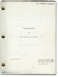 Ron Howard Grand Theft Auto Original Screenplay For The 1977 Film 145347