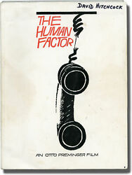 Otto Preminger Human Factor Original Screenplay For The 1979 Signed 145780