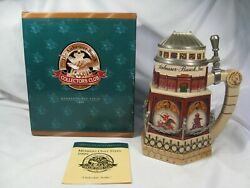Budweiser Anheuser Busch Clydesdale Stable 1999 Members Only Cb11 Stein. 2