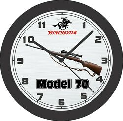Winchester Model 70 Bolt Action Rifle Wall Clock-free Us Ship-browning