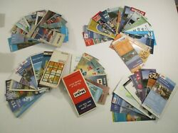 Lot Of 55+ Travel Road Maps Gas Station Brochures Guides Parks Camping