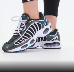 Womenand039s Nike Air Max Tailwind 4 Casual Athletic Shoes Ct1611-001 Black/blue 160