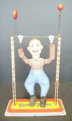 Antique Post Wwii Lever Activated Howdy Doody Toy - Arnold Toys
