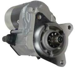 New Gear Reduction Starter Fits Ford Tractor 445 445a 445c 445d Diesel 26338f