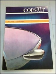 1965 Ford Corsair South Africa Original Car Sales Brochure Catalog - Consul 1964
