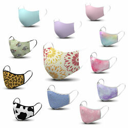 Women's Face Masks Neutral Floral Stylish Trendy Beautiful designs Comfort $7.95