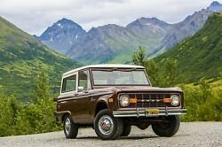 1966 Ford Bronco Front Right 24x36 Inch Poster