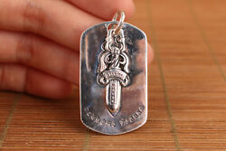 Collect China Solid S925 Silver Necklace Backpack Hang Pendant Key Ring Netsuke