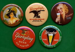 Yuengling Pottsville Pa Beer Tip Tray Style Rp Pins 5 Victorian Lady