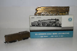 United Brass Ho Scale Southern Pacific Daylight 4-8-4 Steam Locomotive And Tender