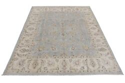 Hand-knotted Rug 9and039 X 11and039 Blue Chobi Peshawar Sun Dried New 108 X 136 In Rug