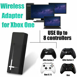 Wireless Usb Gaming Receiver Adapter For Xbox One S/x Controller Pc Windows 10
