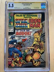 Tales Of Suspense 94 Cgc Ss 5.5 Signed Stan Lee 1rst First Appearance Modok