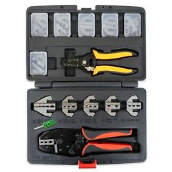Interchangeable Ratcheting Crimper Set - Insulated, Superseal, Weatherpack