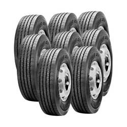 8 Tires 245/70r19.5 Pirelli Fr01 Truck Tire All Position 14 Ply