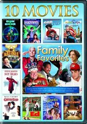 FAMILY FAVORITES 10 MOVIE COLLECTION New 3 DVD Set King Ralph Bilko Borrowers