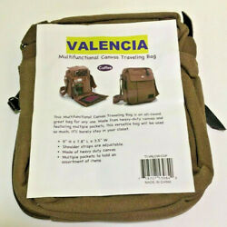 Valencia Multifunctional Canvas Traveling Bag Coffee $11.99