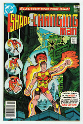 Shade The Changing Man 1 9.4 High Grade 1st Rac Shade Ow Pgs 1977