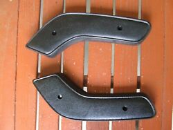 Nice 71-1974 B Body Front Bench Seat Hinge Covers Dodge Plymouth Roadrunner Gtx
