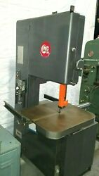 Grob 24 Metal Band Saw Bandsaw With Welder And Table Feed In Pristine Condition