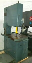 Grob 24 Metal Band Saw Bandsaw With Welder And Table Feed In Great Condition