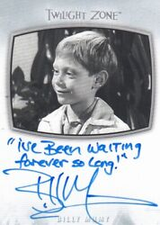 2020 The Twilight Zone Archives - Billy Mumy Ai-23 Inscription I've Been...