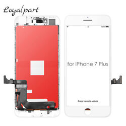 White For iPhone 7 Plus Screen Replacement LCD Touch Digitizer Assembly Display