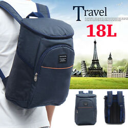 Insulated Cooling Backpack Picnic Camping Beach Cooler 18L Picnic OutDoor C $68.39