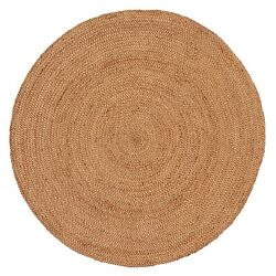 Small Round Modern Plain Area Rug Contemporary Large  Design Style