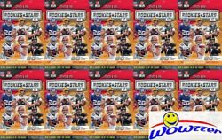 10 2018 Panini Rookies And Stars Football Hanger Box-600 Cards-purple Parallels