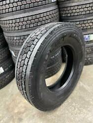 8 Tires 11r22.5 Amulet Ad507 Drive 16 Ply L 146/143 Commercial Truck