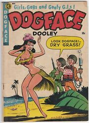 Dogface Dooley 5 A-1 64 Vg+ 4.5 Incredibly Sneaky Risque Cover Wow