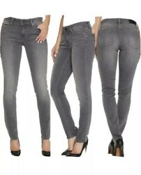 Calvin Klein Gray Ultimate Skinny Mid-Rise Jeans Women's Size 12x30 $12.99
