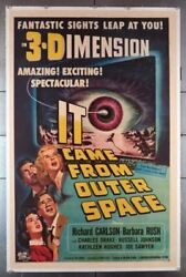 It Came From Outer Space 1953 23070 Art By Joe Smith Classic Sci-fi Poster