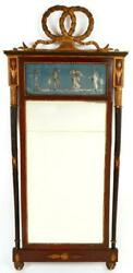 New Price 19th Century French Neoclassical Wall Mirror