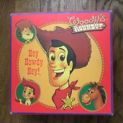 New Toy Story Roundup Woody Jessie Prospector Bullseye Very Rare Picture Plate
