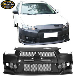 Fits 08-15 Mitsubishi Lancer Fq Fq440 Style Front Bumper Cover Conversion - Pp