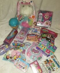 Surprise Gift Bundle Lil Live Wrapples Smooshy Mushy Squeezaimal Toy Lot Lol