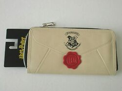 HARRY POTTER LETTER CLUTCH WALLET - CREAM - ZIPAROUND - 8