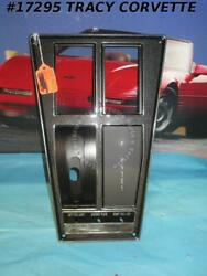 1969 Corvette Console Plate Assembly Gm 3956072 3956069 Automatic Air 3956074
