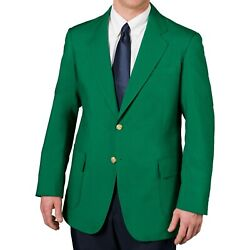 Menand039s Two Button Single Breasted Polyester Stretch Blazer