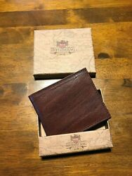 The British Bag Company Full Grain Leather Wallet gift $29.99