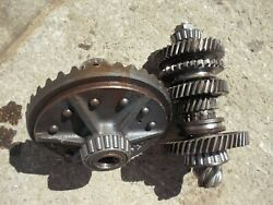 Allis Chalmers Ca Tractor Ac Original Ring And Pinion Drive Gear Matched Set
