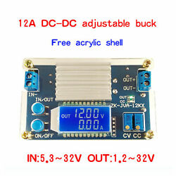 For 12a Adjustable Lcd Buck Power Supply Module Onstant Voltage Constant Current