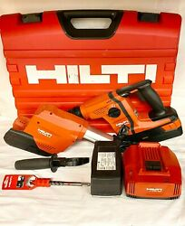 Hilti Te 6-a36 Rotary Hammer Drill W/ Te Drs-6-a Case Battery And Charger 36v