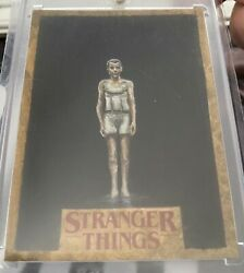 Topps Stranger Things 1/1 Sketch Andldquoelevenandrdquo By Mick And Matt Glebe Wow Glebe Broandrsquos