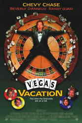 Vegas Vacation Original Movie Theater Poster 27 X 40 Chevy Chase P100068