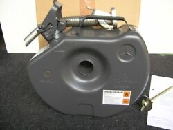 Mercedes Reserve Canister Gas Spare Tyre Tire Jerry Can Mb S Sl Se G-class Nos