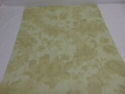 Vintage Double Roll Wallpaper York Ronald Redding Mint And Spring Green Floral